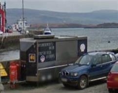 The Chip Van, Tobermory, Isle of Mull